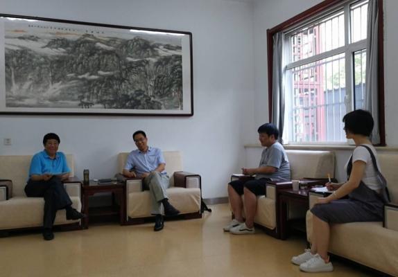 中国动漫集团领导赴我省考察《少年老子》创作进度