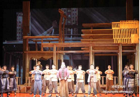 廊坊首部大型原创音乐剧《紫檀》在北京演出