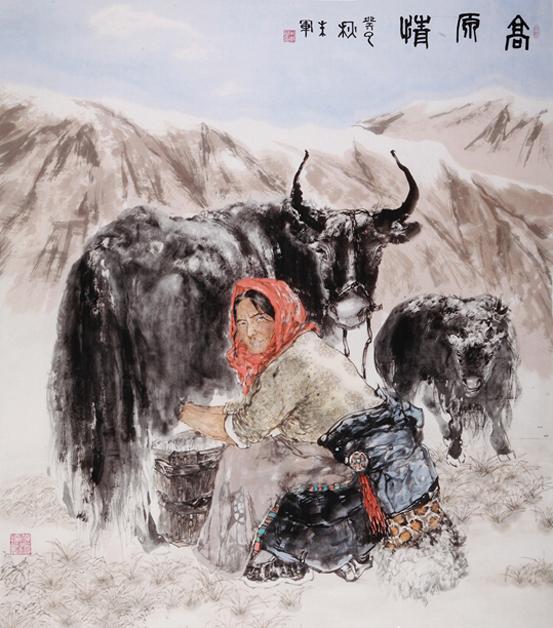 杜蘅情怀——朱军绘画作品巡展石家庄站