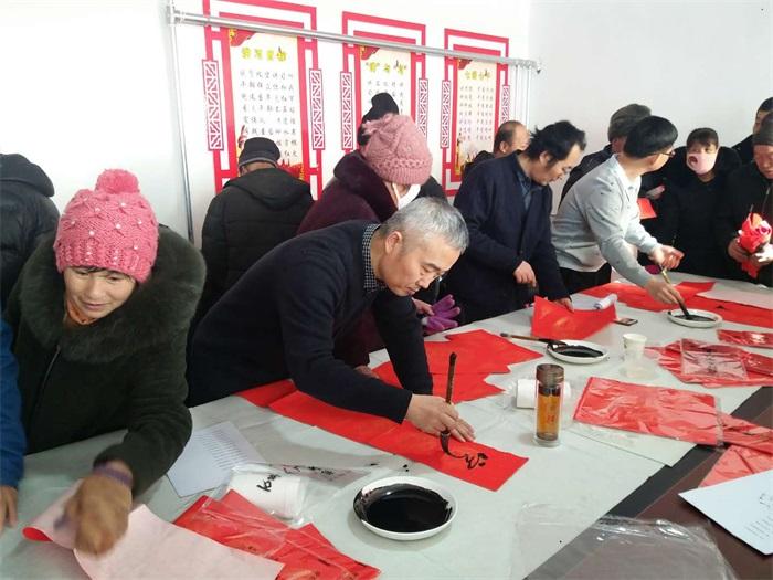 """河北省艺术研究所积极开展""""我们的中国梦——文化进万家""""春节送福活动"""