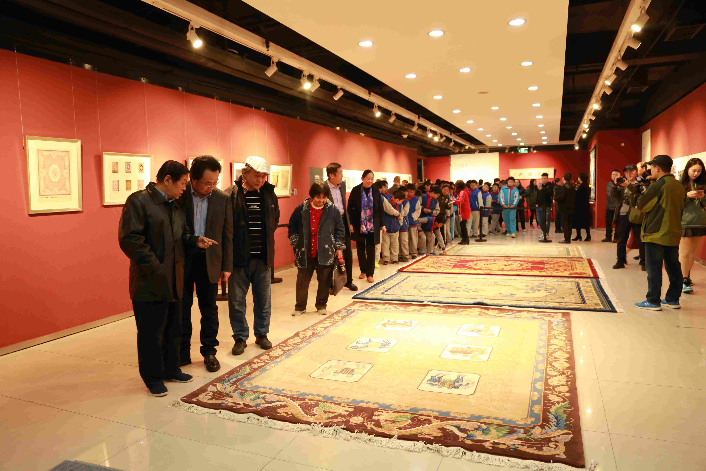 直隶织造地毯艺术文献展亮相河北大学